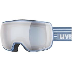 UVEX Compact FM Beskyttelsesbriller, lagune mat/mirror silver